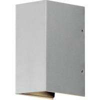 Cremona vegglampe aluminium 2x3W LED IP54