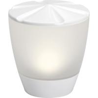 Assisi-Turner solcellslampe LED hvit IP44