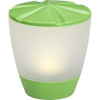 Assisi-Turner solcellslampe LED grønn IP44