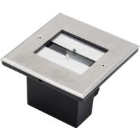 Bakkespot 230V 9W LED m justerbar spredning IP65