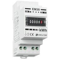 M�ler EM30-C 1 Fas 2 Modul 30 Amp Mekanisk Telleverk