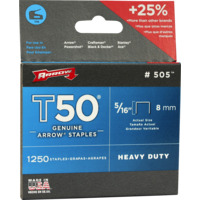 Arrow stifter 8mm T50 5/16