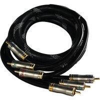 RGB kabel High grade 3xSort/hvit 1,5M