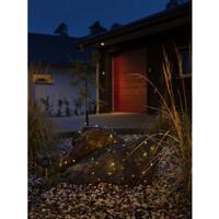 Lysslynge Solcelle LED 80 Fast + Blinkende Lys Ute 11,32m