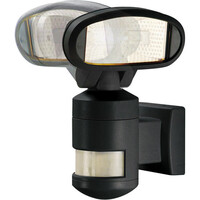 Lyskaster 150W PIR-sensor Roterende Alarm R7s IP44