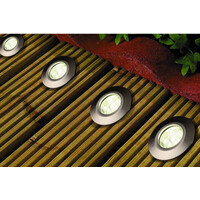 LED Argo Spot 0,6W 40mm 4stk/sett Trafo 12V AC IP65