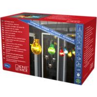 Partylys Lysslynge 10 farget LED lys 24V/IP44 Start.