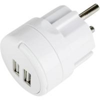 USB Lader dobbel 2,1A