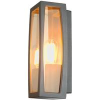 SLV Meridian Box Vegglampe E27 IP54 Antrasitt