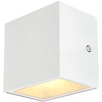 SLV Sitra Cube Vegglampe 3000K IP44 Hvit