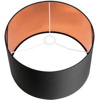 SLV Fenda Lampeskjerm Rund Ø 45,5cm Sort/kobber