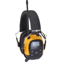 Hørselvern med DAB+/Bluetooth POP@work PRO
