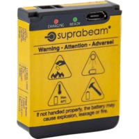 SUPRABEAM BATTERI V3 AIR R LI-PO 1400 MAH USB