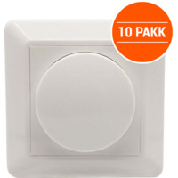 LED Dimmer 250W 1-pol 10 PK