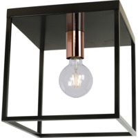 ARTHUR Ceiling Light E27 40W Black
