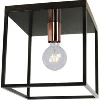 ARTHUR Ceiling Light E27 40W Black