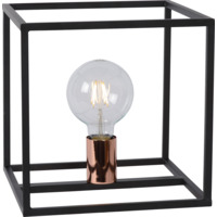 ARTHUR Table Lamp E27 25/25/25cm Black