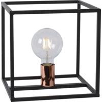 ARTHUR Table Lamp E27 25/25/25cm Black