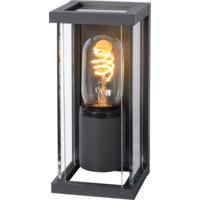 Lucide Claire Mini Utendørs Vegglampe IP54 E27 Antrasitt